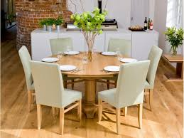 Glass Extendable Dining Table And 6 Chairs Dining Tables Six Person Dining Table Design Black Chairs