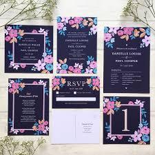wedding invitations northern ireland forever floral stationery suite roco miley roco miley