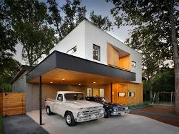 House With Carport Modern Home With Carport Built Around Live Oak Tree Matt Fajkus