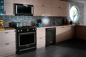what color cabinets look with black stainless steel appliances a guide to appliance finish options warners stellian