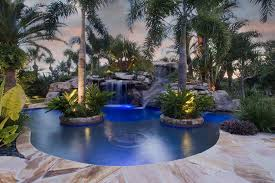 Waterfall Design Ideas Swimming Pool Captivating Small Pool Ideas With Artificial