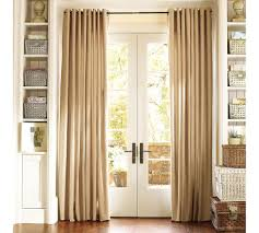 orange curtains for sliding glass door decorate the house with