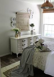 vintage farmhouse guest room with a twist cotton stem