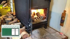 shipping container house log burning safe flue and insulation