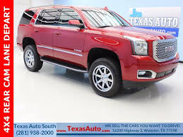 gmc yukon red red gmc yukon in houston tx for sale used cars on buysellsearch