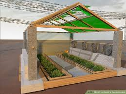 How To Build A Pergola Roof by How To Build A Greenhouse With Pictures Wikihow