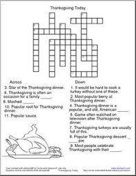 with 34 clues this crossword puzzle worksheet will them