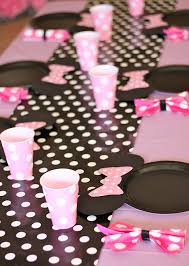 Ideas For Black Pink And Minnie Mouse Party Giada Is 2 Minnie Mouse Party Mouse Parties