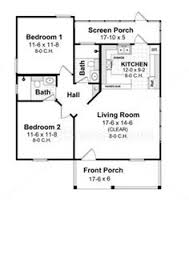Two Bedroom House Plans by Tumbleweed Construction Video Cottage Floor Plans House And