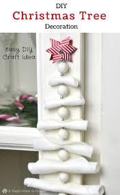 diy hanging christmas tree decoration simple and stylish