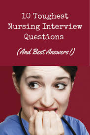 Resume Sample Questions And Answers by Job Interview Questions And Answers Top 80 Nurse Interview