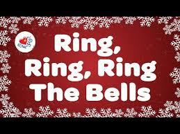 rings bells images Ring ring ring the bells with lyrics kids christmas songs jpg