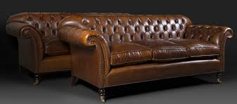 Leather Chairs Of Bath Chelsea Design Quarter Leather Chesterfield - Sofa in leather