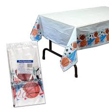 Party Table Covers Sports Party Table Cover Sports Holidays U0026 Events