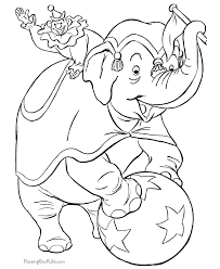circus coloring pages pictures circus coloring books