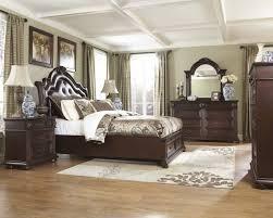 antique wood bedroom furniture look design set in finish inside