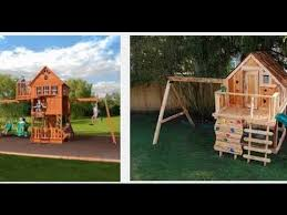 Metal Backyard Playsets by The 5 Best Outdoor Playsets 2017 Youtube