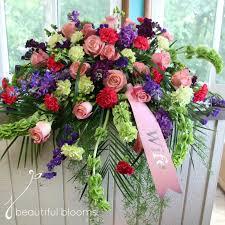funeral ribbon funeral flowers beautiful blooms by jen