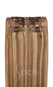 Blonde Hair Extensions Clip In by Ash Blonde Clip In Hair Extensions 613 10