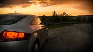 sunset audi audi tt sunset 3 by hegge12 on deviantart