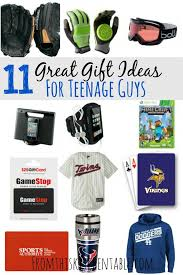 gift ideas for teenage boys from this kitchen table