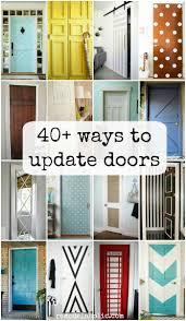 Interior Room Doors Remodelaholic 40 Ways To Update Flat Doors And Bifold Doors