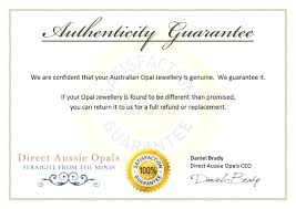 free certificate of authenticity template