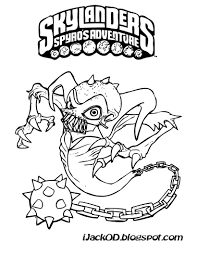unique comics animation good skylanders coloring pages