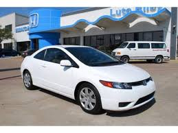 used 2007 honda civic lx coupe for sale stock p7h569428