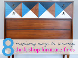 Modern Furniture Diy by 8 Cool Thrift Store Furniture Revamps To Inspire Your Next Diy
