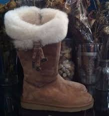womens ugg plumdale boots ugg plumdale s charm suede boot size 6 chestnut model