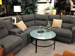 Grey Recliner Sofa Sectional Sofas With Cup Holders Or Grey Sectional Recliner