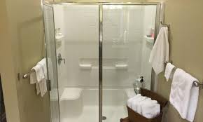 master bath shower install u2013 a simple practical upgrade