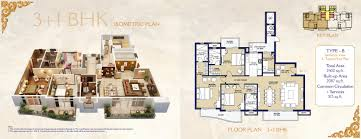 Floor Plans Luxury Homes Ats Casa Espana Mohali Ats Mohali Casa Espana Ats Luxury