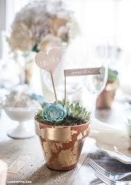 succulent wedding favors diy wedding favors paper succulent pots lia griffith