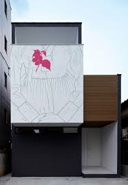 artist adds classic drawings to modern japanese homes u2013 cube breaker