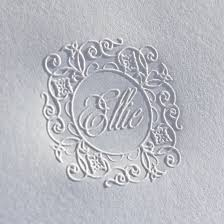 embossed stationery embossed note ry97