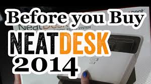 neatdesk scanner review 2014 what you should know youtube