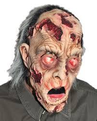 Halloween Monster Mask by Zagone Studios Melting Man Zombie Monster Mask Zagone Studios