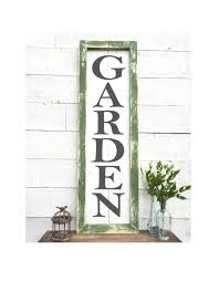 etsy vintage home decor home decorating ideas rustic vintage garden sign rustic home decor