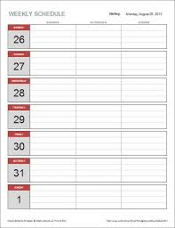 best 25 weekly schedule template excel ideas on pinterest excel