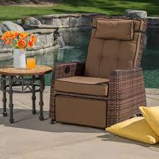 amazon com best selling pe wicker outdoor recliner outdoor and