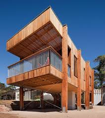 awesome timber beach shack finished in plywood