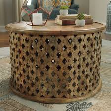 Martini Side Table by Tribal Carved Wood Accent Table World Market