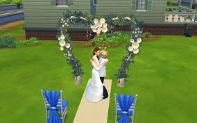 wedding arches on the mod the sims all sims 3 wedding arches set