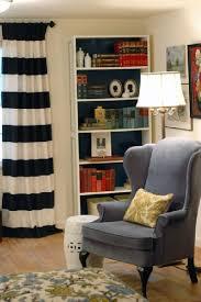 Black White Stripe Curtain Black And White Striped Curtains Design Ideas