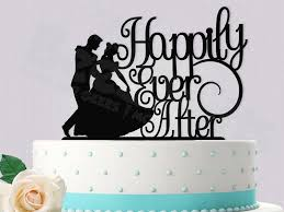 cinderella wedding cake topper disney inspired cinderella happily after wedding cake topper