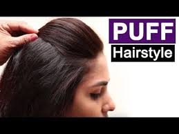 5 easy puff hairstyles everyday hairstyles tutorials quick