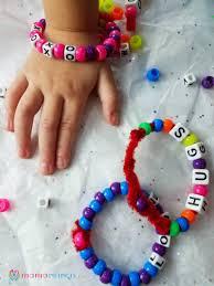 easy valentine u0027s bracelet kids can make u2013 mama instincts
