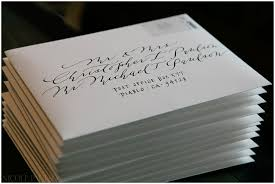wedding invitations envelopes our wedding envelope calligraphy paulson photography